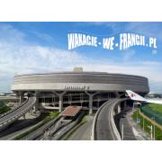TRANSFER Z LOTNISKA CHARLES DE GAULLE DO HOTELU W PARYŻU - w jedną stronę dla  1 - 8 osób