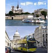 """2 dniowy BILET """"PARIS A LA CARTE"""" - ulgowy"""