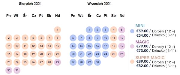 kalendarz disney 2021/09