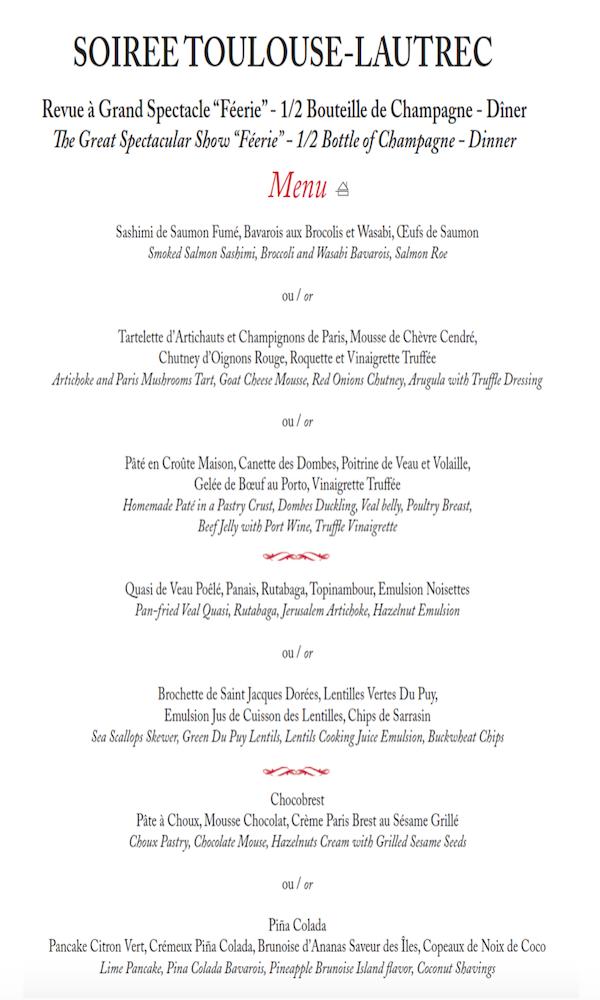 menu Toulouse
